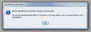 Rebuild file