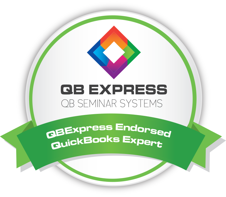 QBExpress Member Badge for Small Business Bookkeeping Services